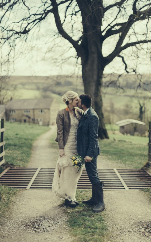 A country wedding with Sarah and George