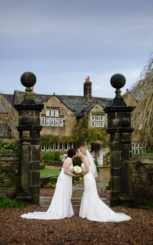 Holdsworth House Wedding with Deborah and Olivia