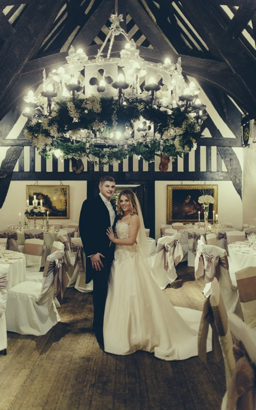 Samlesbury Hall Wedding with Charlotte and Craig