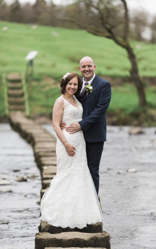 The Inn at Whitewell wedding with Amanda and Paul