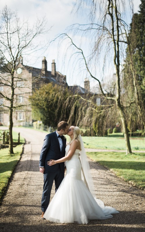 Browsholme Hall and Tithe Barn Wedding with Jenny and Chris
