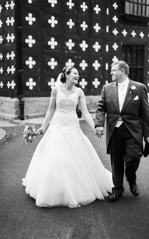 Samlesbury Hall Wedding Photography with Elizabeth and Andrew