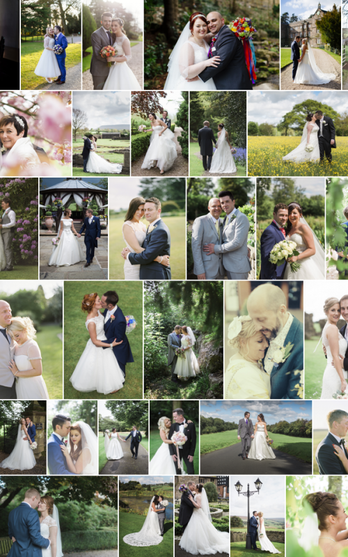 2015 Weddings - a year in pictures for LottieDesigns