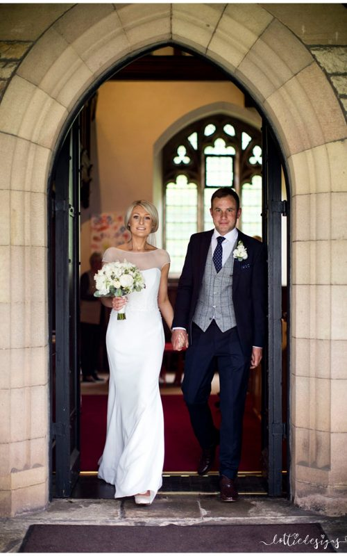 Inn at Whitewell Wedding Photography with Rebecca and Tom