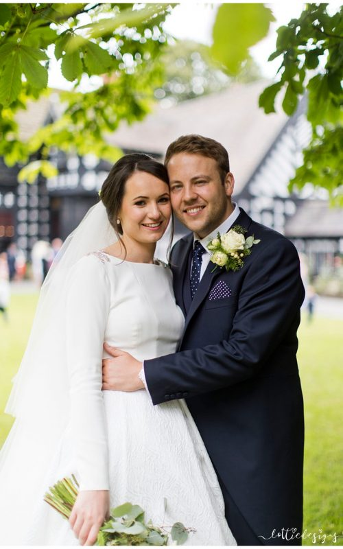 Samlesbury Hall Wedding Photography with Phoebe and Luke