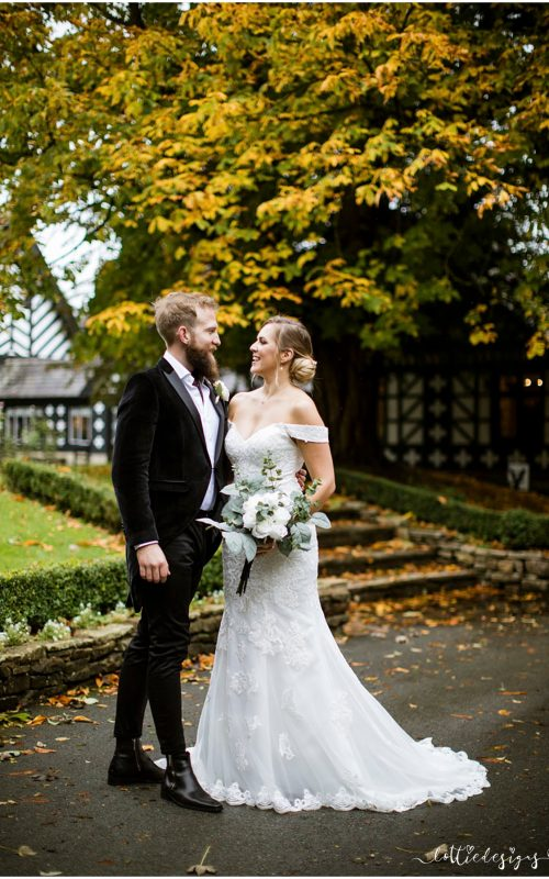 Samlesbury Hall Wedding Photography with Zoe and Daniel
