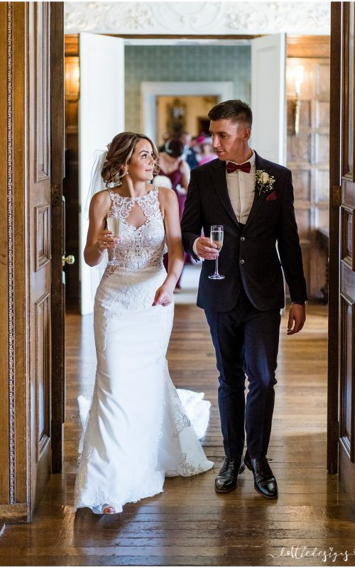 Knowsley Hall Wedding with Byron and Katie